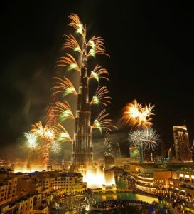 Downtown Dubai New Year's Eve Gala 2014