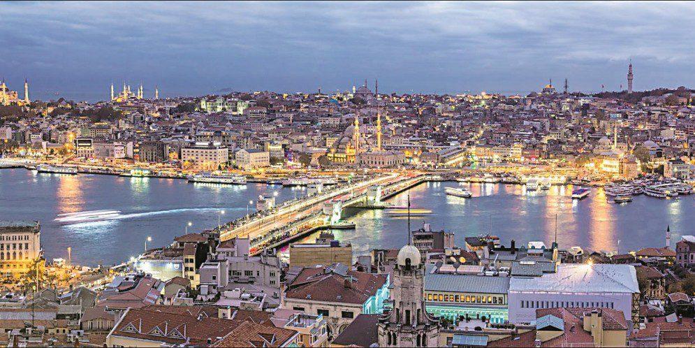 Проект моста через Золотой Рог Леонардо да Винчи