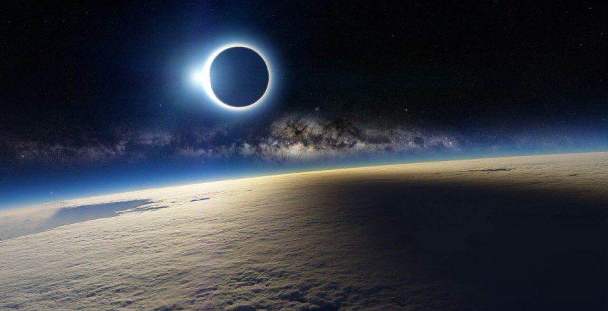 Солнечное и лунное затмение в октябре 2014 года