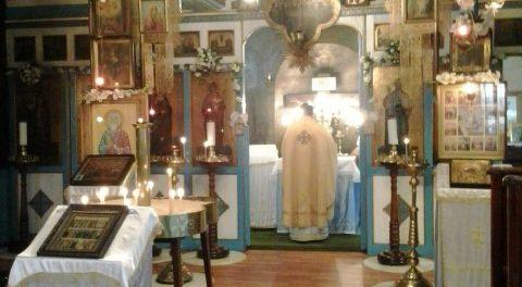 Возобновление богослужений в Православной церкви Св. Андрея Первозванного