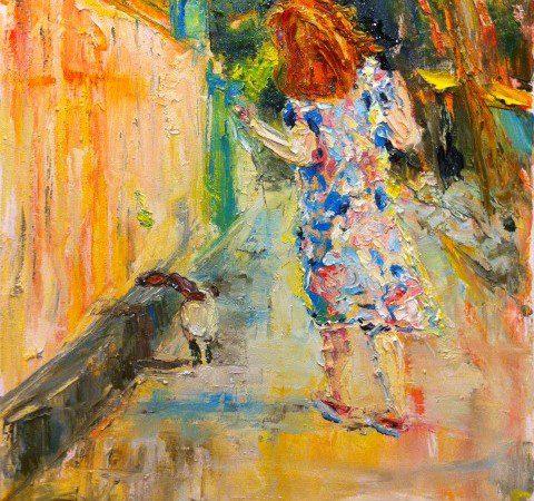Мария Тимур и ее кошачий Стамбул