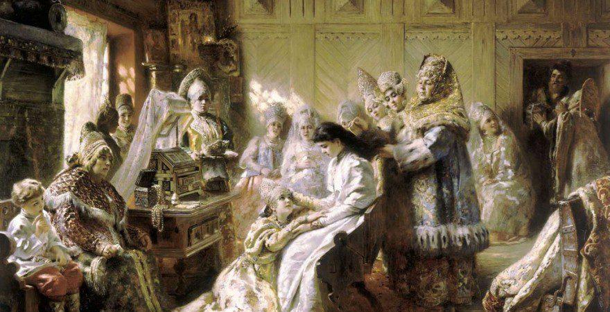 Свадьба –  древние традиции, дошедшие до наших дней