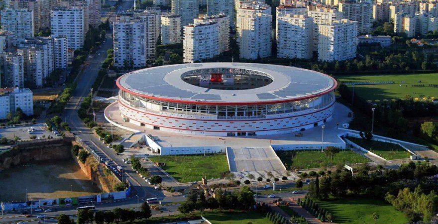 В Турции открыли уникальный стадион