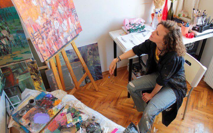 Катерина Журавлева Кайя: Я с самого детства хотела быть в мире искусства