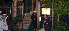 Пожар в посольстве Украины в Анкаре