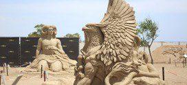 Фестиваль песочных скульптур в Анталии