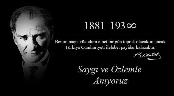 День Памяти Мустафы Кемаля Ататюрка