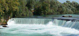 Реконструкция водопада в Манавгате