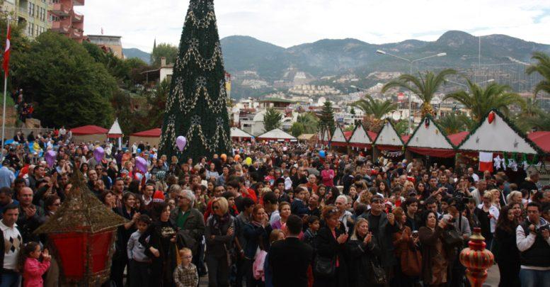 Международная Рождественская ярмарка в Алании