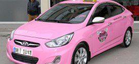Розовое такси для женщин
