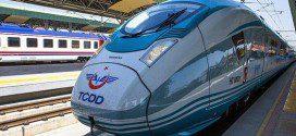 Второй высокоскоростной поезд уже в Турции